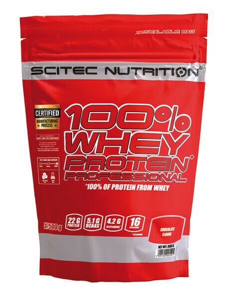 100% WHEY PROTEIN PROFESSIONAL Scitec Nutrition 500 g