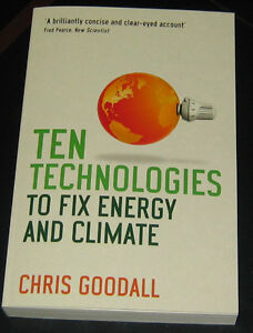 Ten Technologies to Fix Energy and Climate Cambridge Kitchener Area image 1