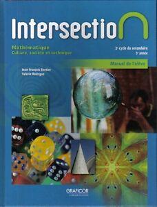 Intersection, Mathématique C.S.T