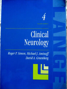 Clinical Neurology: A Lange Medical Book (USMLE,board,MCC,exam) London Ontario image 1