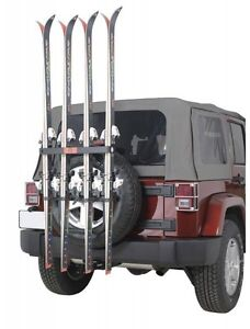 Wanted Spare Tire Ski Rack