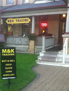 TOP PRICES PAID FOR YOUR GOLD, SILVER, COINS AND JEWELLERY