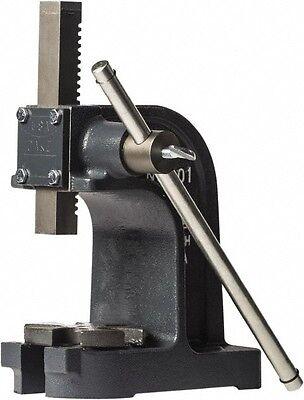 Dake 1 Ton Pressure Single Leverage Manual Power Arbor Press 7 Inch Max Wor...