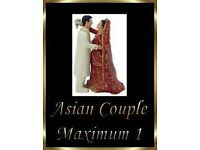 Interchangeable Asian Bride & Groom Wedding Cake Topper Decoration Fab Keep Sake