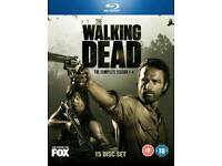 The Walking Dead Season 1-4 Blu-ray Boxset