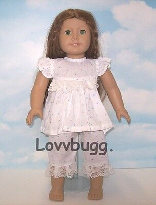 "Lovvbugg Summer Pajamas for 18"" American Girl Doll Clothes"