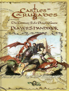 CASTLES & CRUSADES - Fantasy Role Playing PLAYER'S HANDBOOK  Hcv