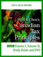 Canadian Tax Principles 2014-2015 E-Book & Solution Manual
