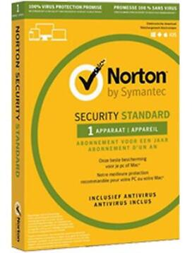 Norton Security Standaard 1-Device 1 jaar
