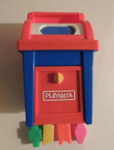 Playskool Mail Box - Shape Sorter - Vintage 1970s