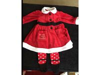 6-9 Month Girls Christmas Bundle