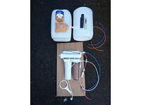 D&D RO unit 50 US Gallon & Refillable DI resin inline cartridge