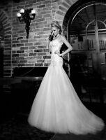 NOUVEAU! Robe de mariée / NEW! Backless Wedding Dress