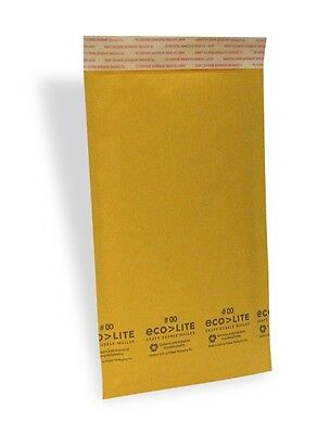 250 00 5x10 X-wide Ecolite Usa Kraft Bubble Mailers Envelopes From Nyc