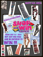 VERY EXCITING !!!     SHOP & WIN