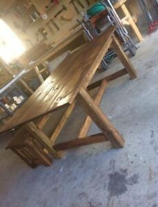 Rustic Harvest Tables- Get Before Christmas!