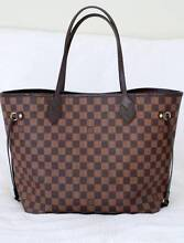 Authentic Louis Vuitton Neverfull Damier Ebene MM Deakin South Canberra Preview