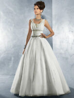 Brand New Designer Wedding Dress with Tags/Not Altered
