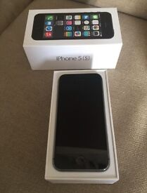 IPhone 5s 16 GB on EE, nearly new condition.