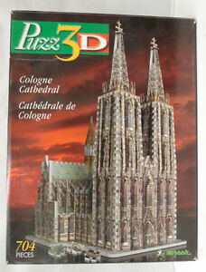 "Wrebbit 3D puzzle ""Cologne Cathedral"""