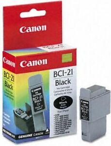 Canon BCI-21 3 Color Ink Cartridge-new/never used + bonus