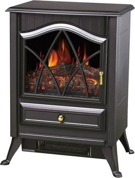 Comfort Glow Ashton Electric Stove Heater Black ES4215