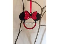 Minnie/Mickey mouse personlised Christmas decorations