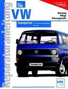 VW T3 Transporter Bus Reparatur-Handbuch Reparaturanleitung Reparaturbuch Buch