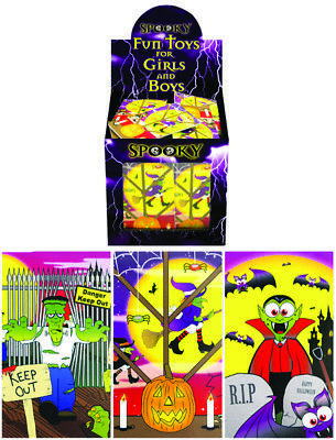 Halloween Mini Notebooks Trick or Treat Party Bag Fillers Spooky Kids Treats - Halloween Treats Goody Bags