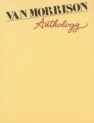 Van Morrison Anthology Sheet Music Piano Vocal Guitar SongBook NEW 000321762