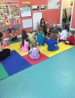 Morning Preschool Spaces