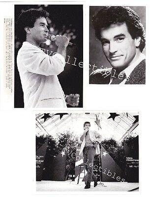 Three TV Press Photos FALCON CREST 1987 ~John Callahan of All My Children