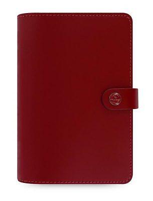FILOFAX PERSONAL ORGANIZER, THE ORIGINAL PILLAR BOX RED
