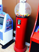 GUMBALL Bubble Gum Candy Vending Machine Arcade Game Coin