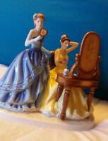 """Royal Doulton """"Dressing For The Ball"""" Figurine"""