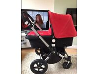 Immaculate bugaboo Cameleon 3 (choice of covers) unisex red