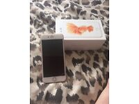 iPhone 6s rose gold 16gb like new