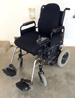 Invacare 24V electric power wheelchair