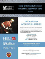 Hard Rock Miner Common Core Chapleau - N. College