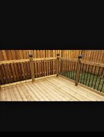 Decks an fences an lots more at great pricing