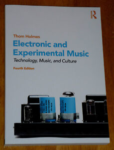 book: Electronic & Experimental Music .. like NEW