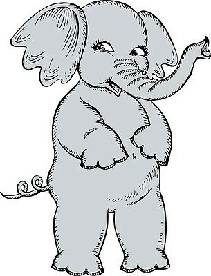 30 Custom Cute Elephant Personalized Address Labels Elephant Address Label