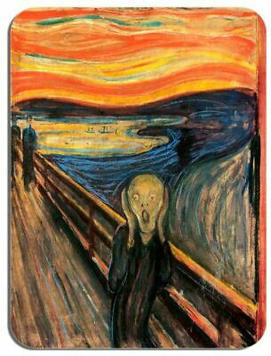 The Scream Edvard Munch Mouse Mat. HD Quality Art Print Computer Mouse Pad Gift Munch Art Mouse Pad