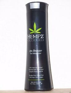 HEMPZ TANNING LOTION - Bronzer & Maximizer