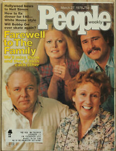All in the Family March 27, 1978, 104 page issue of PEOPLE.