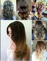 HAIR EXTENSIONS! CALL US TODAY AND GET THEM DONE TODAY