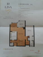 1 Bedrom on lease in 10 lisa st , Bramelia City Centre, Dixie rd