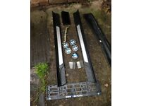 BMW Centre Caps Door Seals Number Plate Surround etc Good Condition Can Deliver