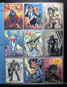 CREATORS UNIVERSE CARDS 1993 - 100 CARD SET + MORE