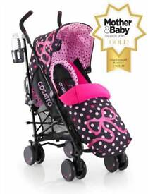 Cossato Supa Stroller 'Bow How'